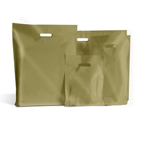 Gold Classic Plastic Carrier Bags [Standard Grade]