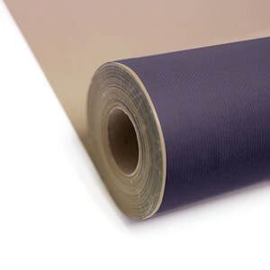 Purple Kraft Roll Wrapping Paper