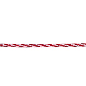 Christmas Twine Red & White 3mm x 20m