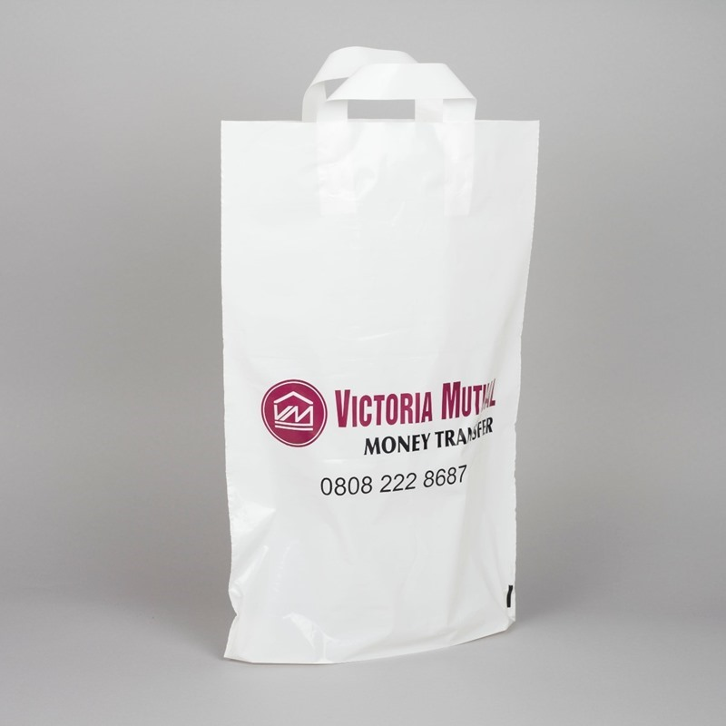 Printed Flexi-loop Plastic Bags
