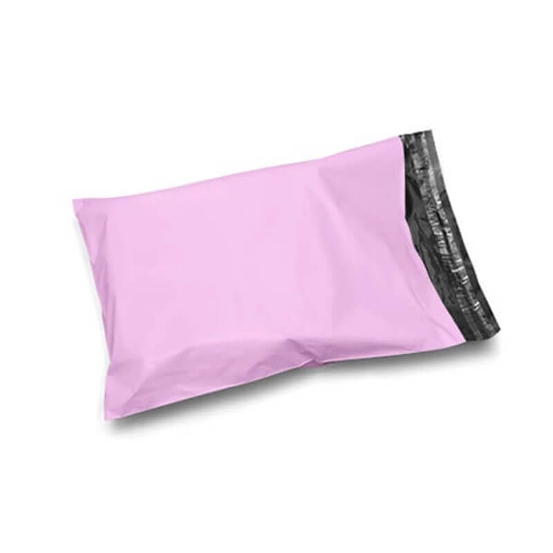 Pink Mailing Bags Recycled Plastic
