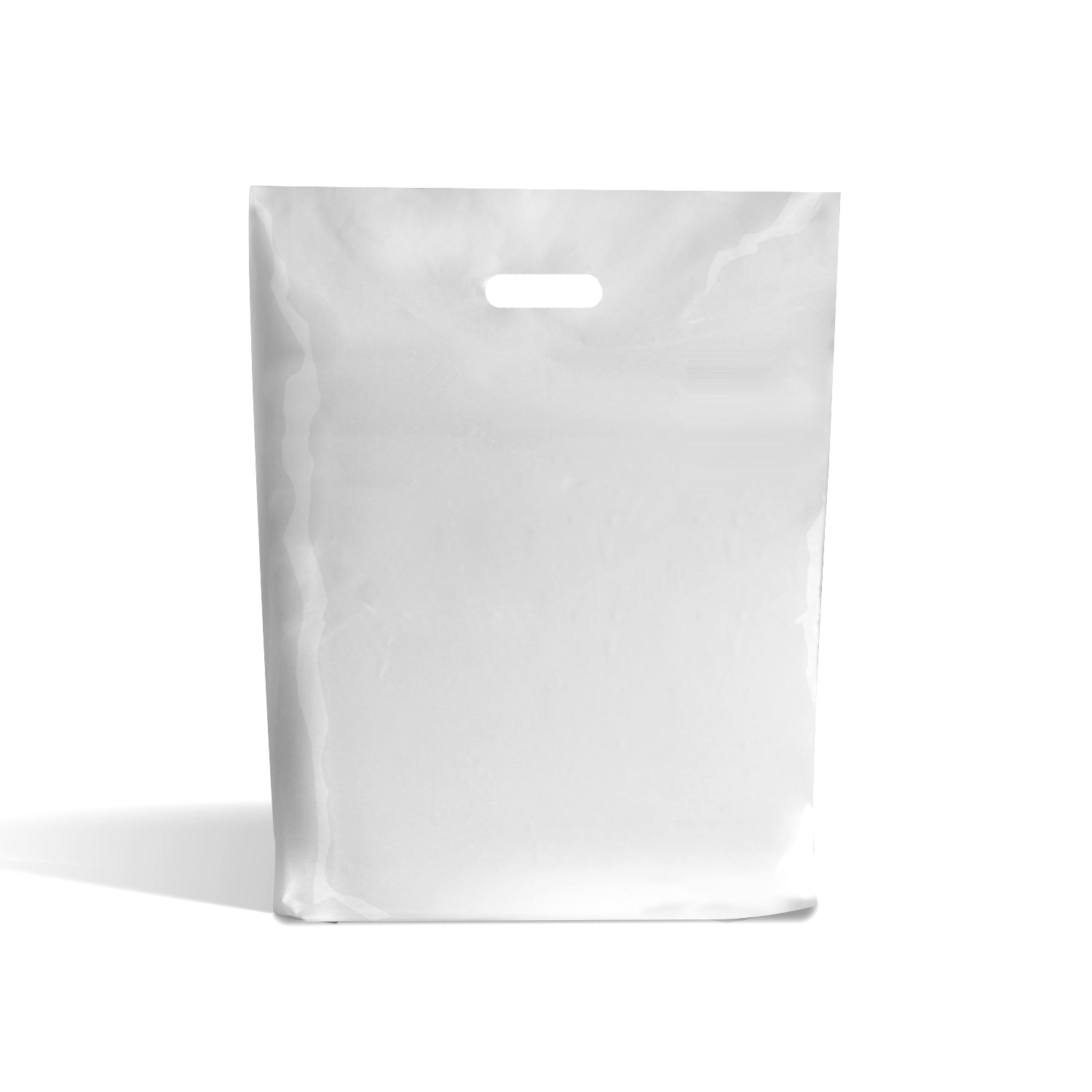 White Standard Grade Plastic Bags Plastic Bags Rocaba